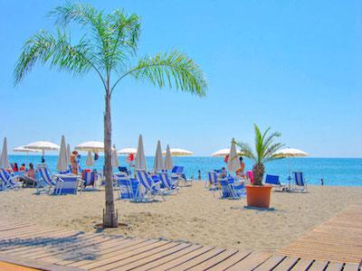 Spiaggia mar Jonio Castroboleto Village